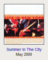 Summer In The City, May 2000