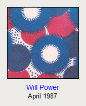 Will Power, April 1987